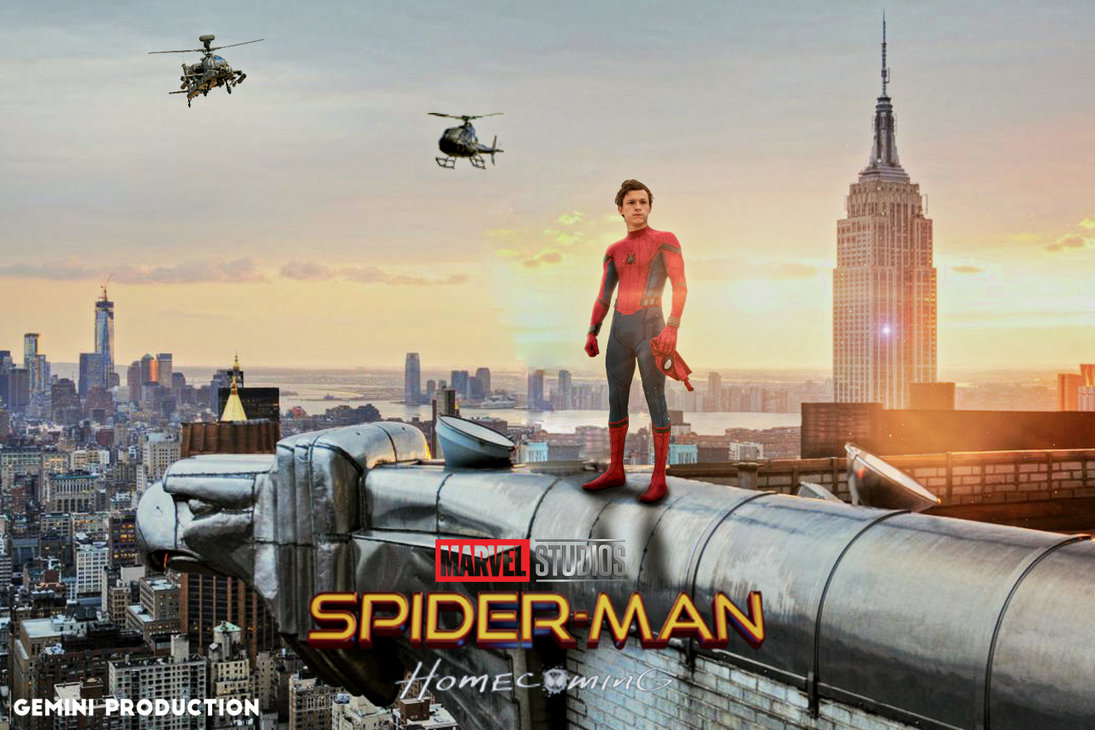 spiderman_homecoming_poster__fan_made__by_anupamyakuza-dard0kt